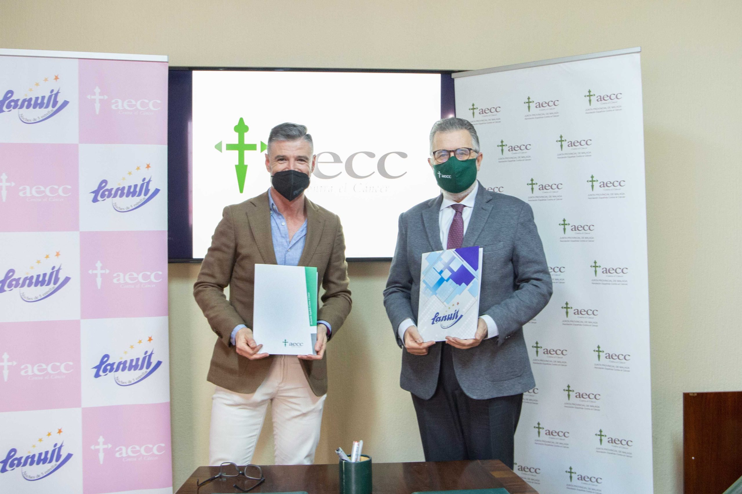 Colchones La Nuit donará parte de los beneficios de la venta del colchón Oliva a la Asociación Española Contra el Cáncer AECC de Málaga