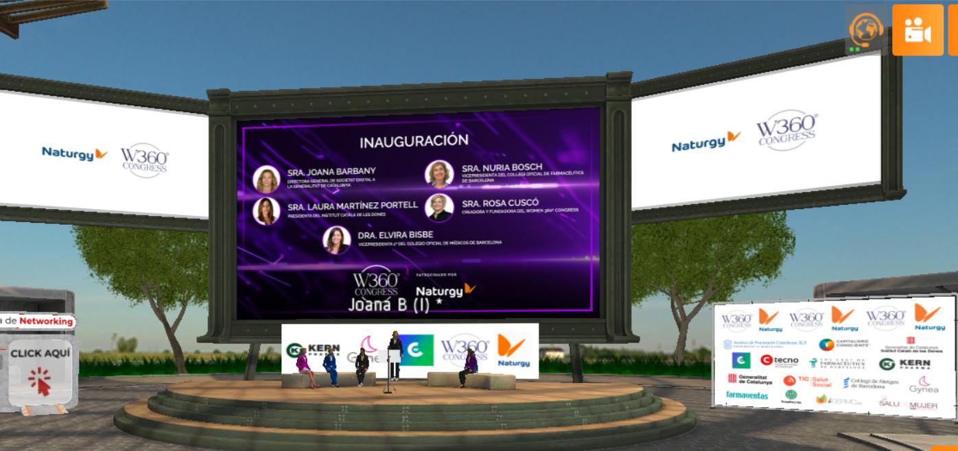 El primer Women 360º Congress en RV aborda los retos y oportunidades de la tecnología contra la Covid19