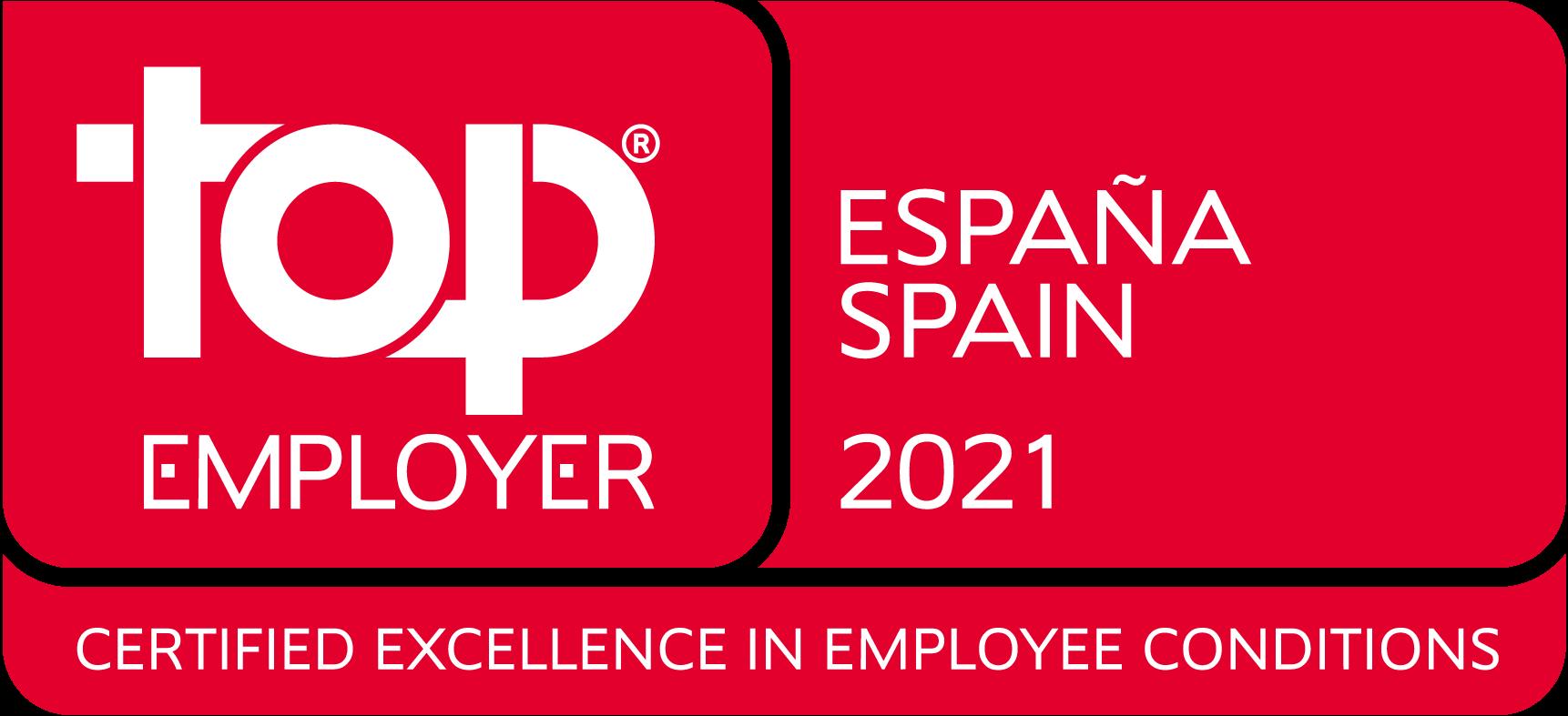 Electrolux España recibe, un año más, el certificado Top Employer por su gestión de los Recursos Humanos