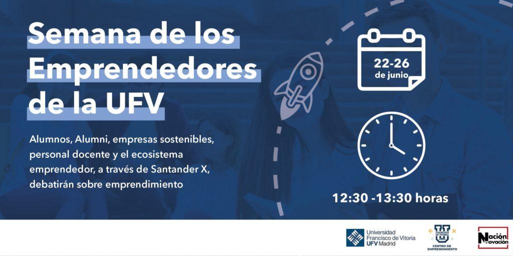 Foto de Semana de los Emprendedores de la UFV.