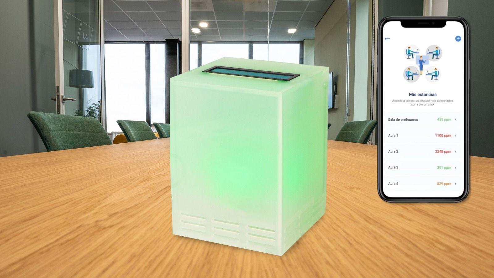 Medidores de CO2 para evitar la expansión del Covid en espacios cerrados