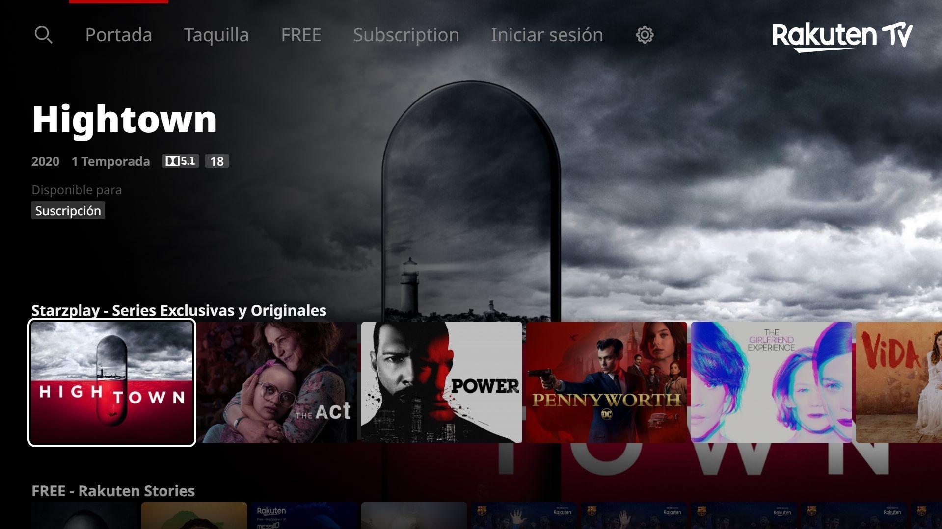 Rakuten TV lanza el servicio de suscripción STARZPLAY en la plataforma