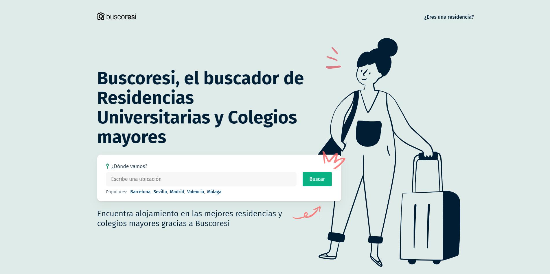 Buscoresi, la startup que ayuda a estudiantes a encontrar alojamiento