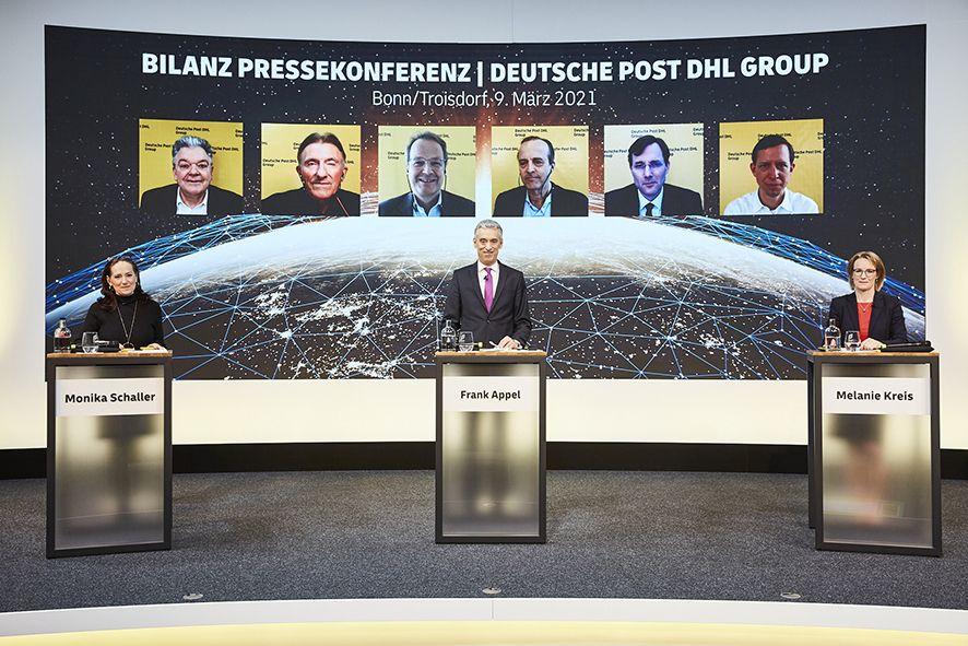 El Grupo Deutsche Post DHL eleva aún más sus objetivos a medio plazo tras obtener unos beneficios récord