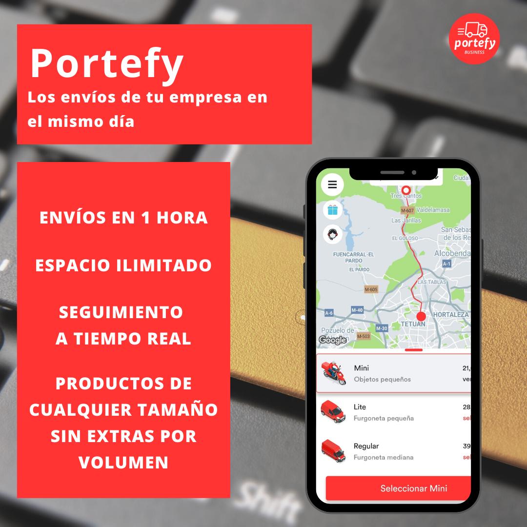 El Grupo La Máquina ficha a Portefy para sus repartos