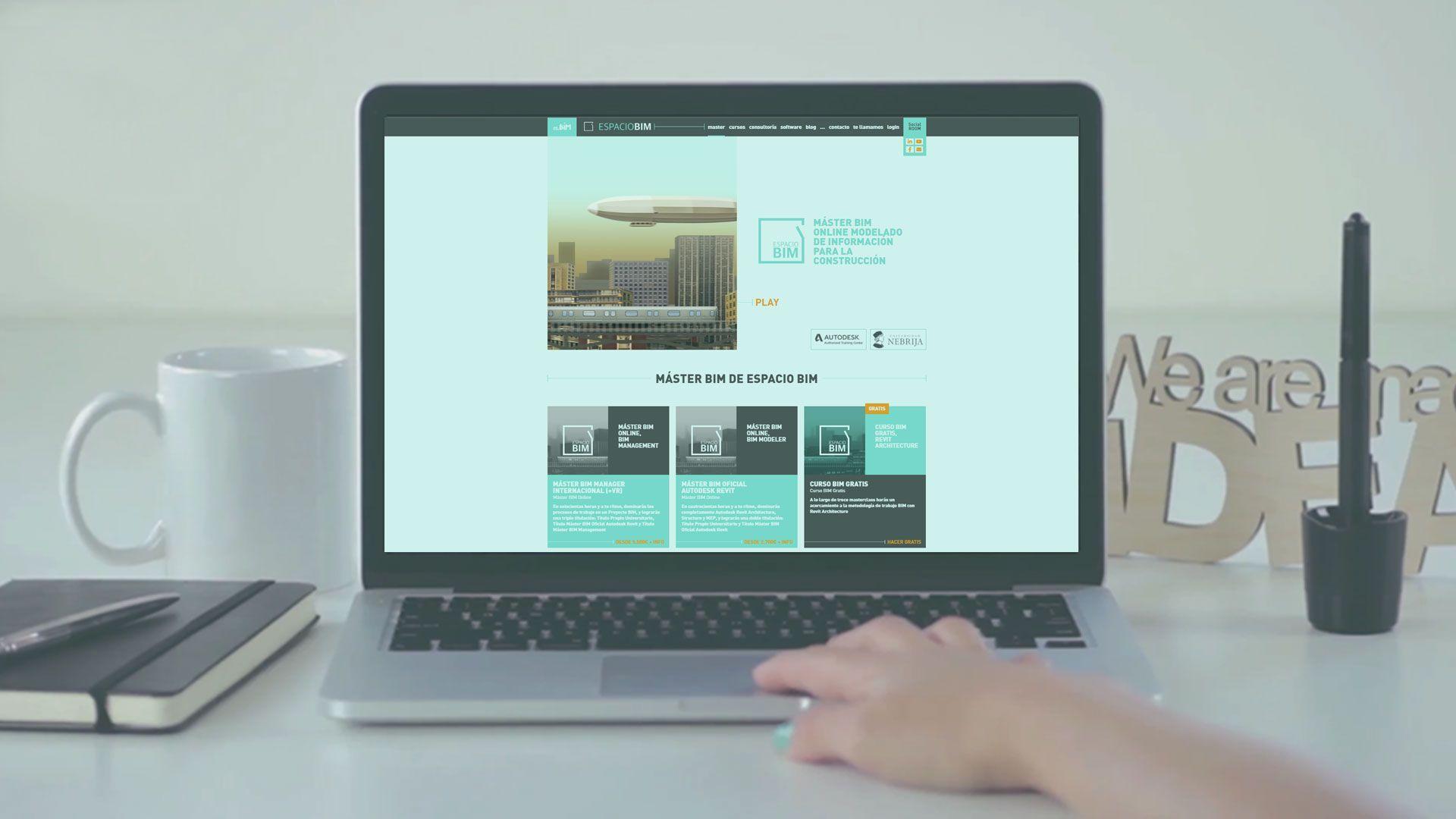 El Máster BIM mejor valorado estrena campus virtual para disfrute de sus alumnos