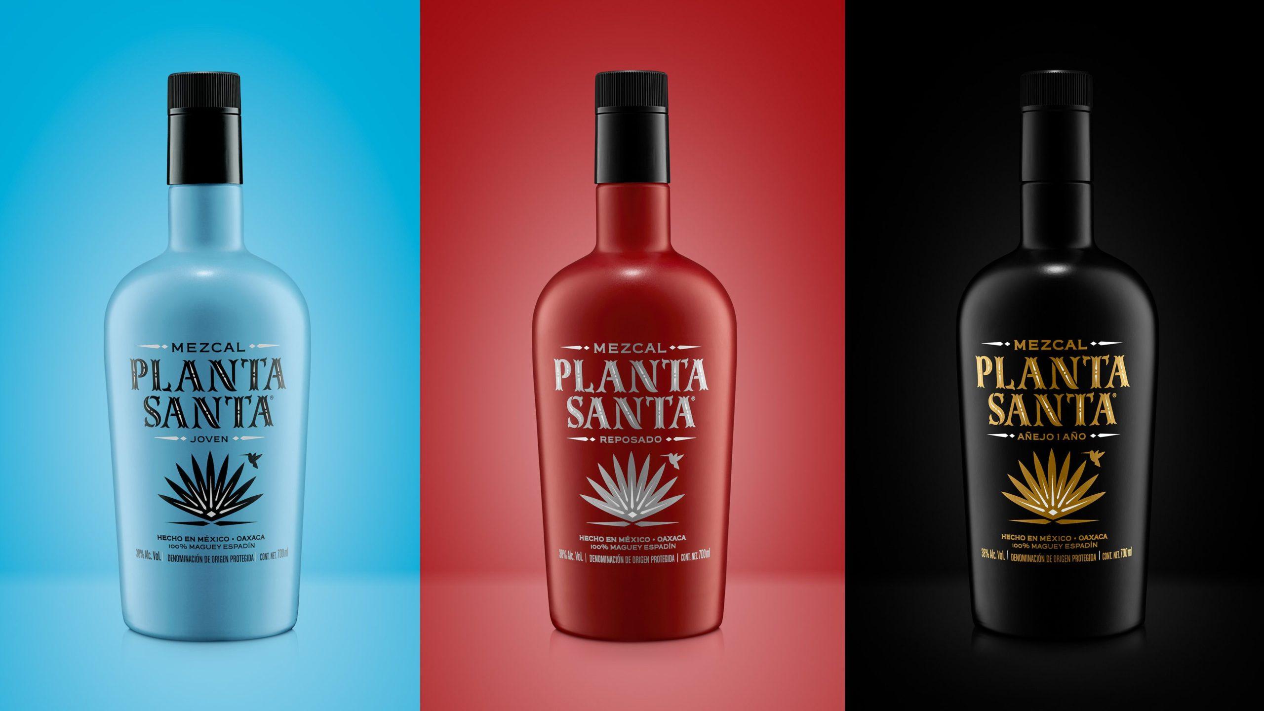 LA BENDITA AGENCIA diseña para Beveland el nuevo pack de la marca de mezcal PLANTA SANTA