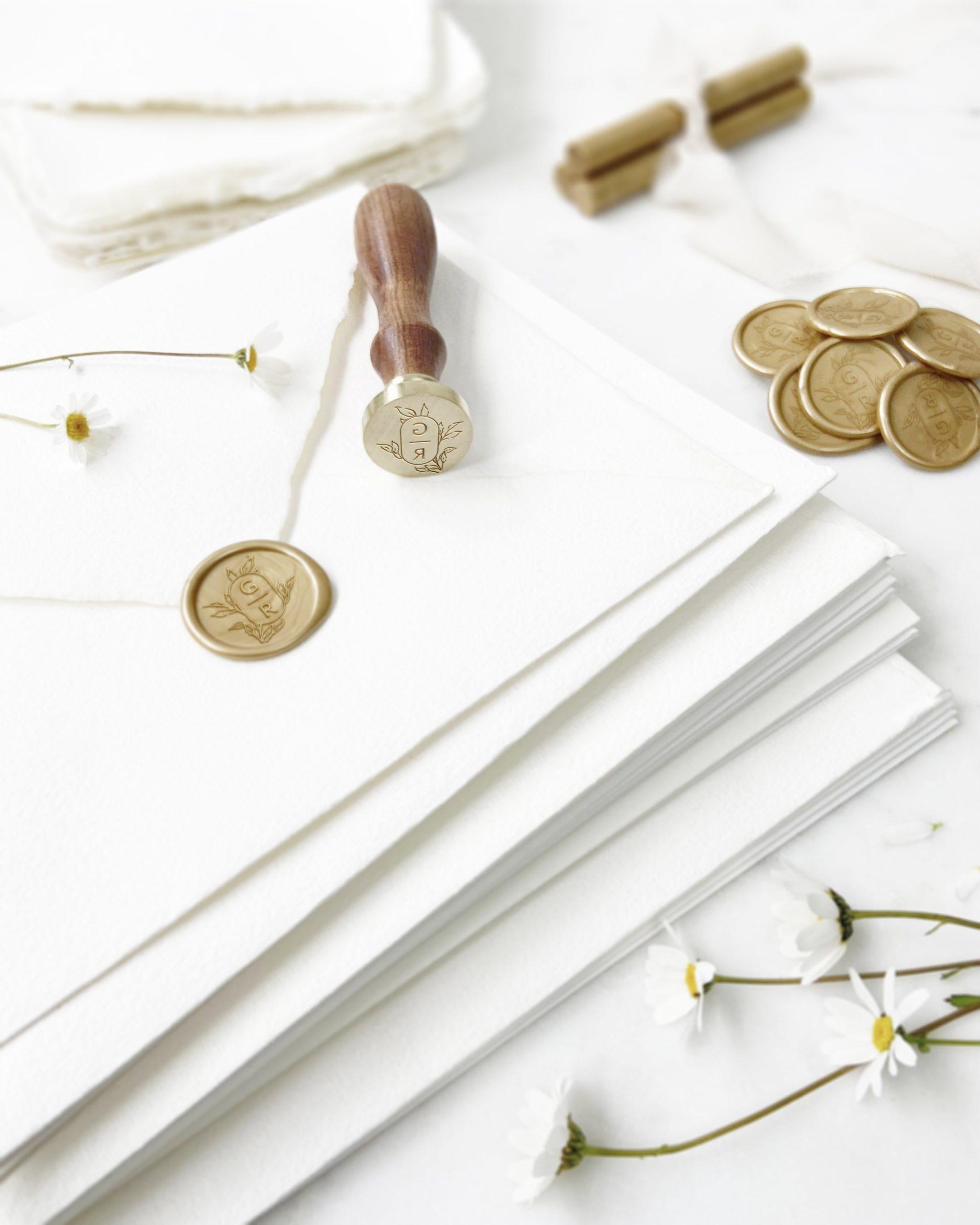 Las clases de sellos para una boda por Marmarina