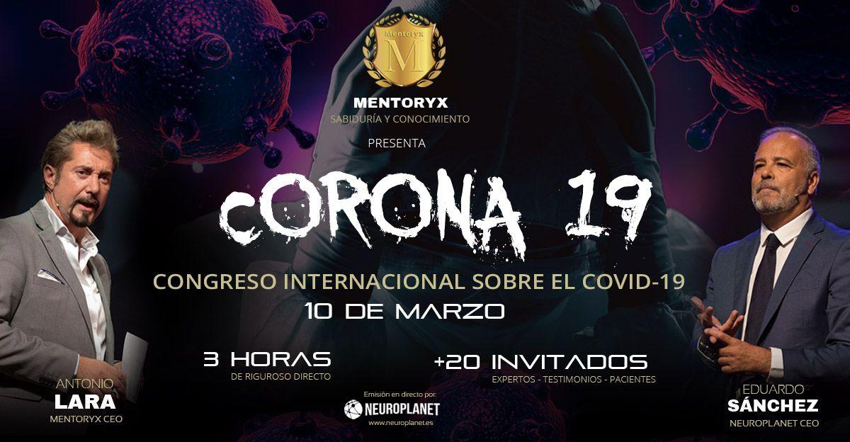 Mentoryx presenta CORONA19 congreso Internacional Online sobre el COVID-19
