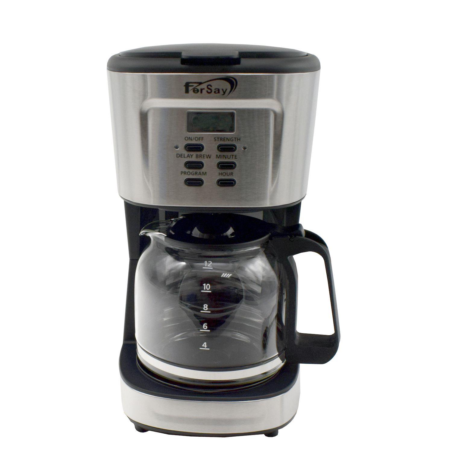 Nueva cafetera Fersay programable para café molido