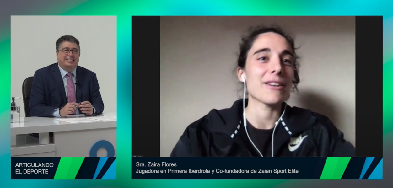 Nuevo proyecto de la futbolista del Rayo, Zaïra Flores, para la prevención de lesiones articulares
