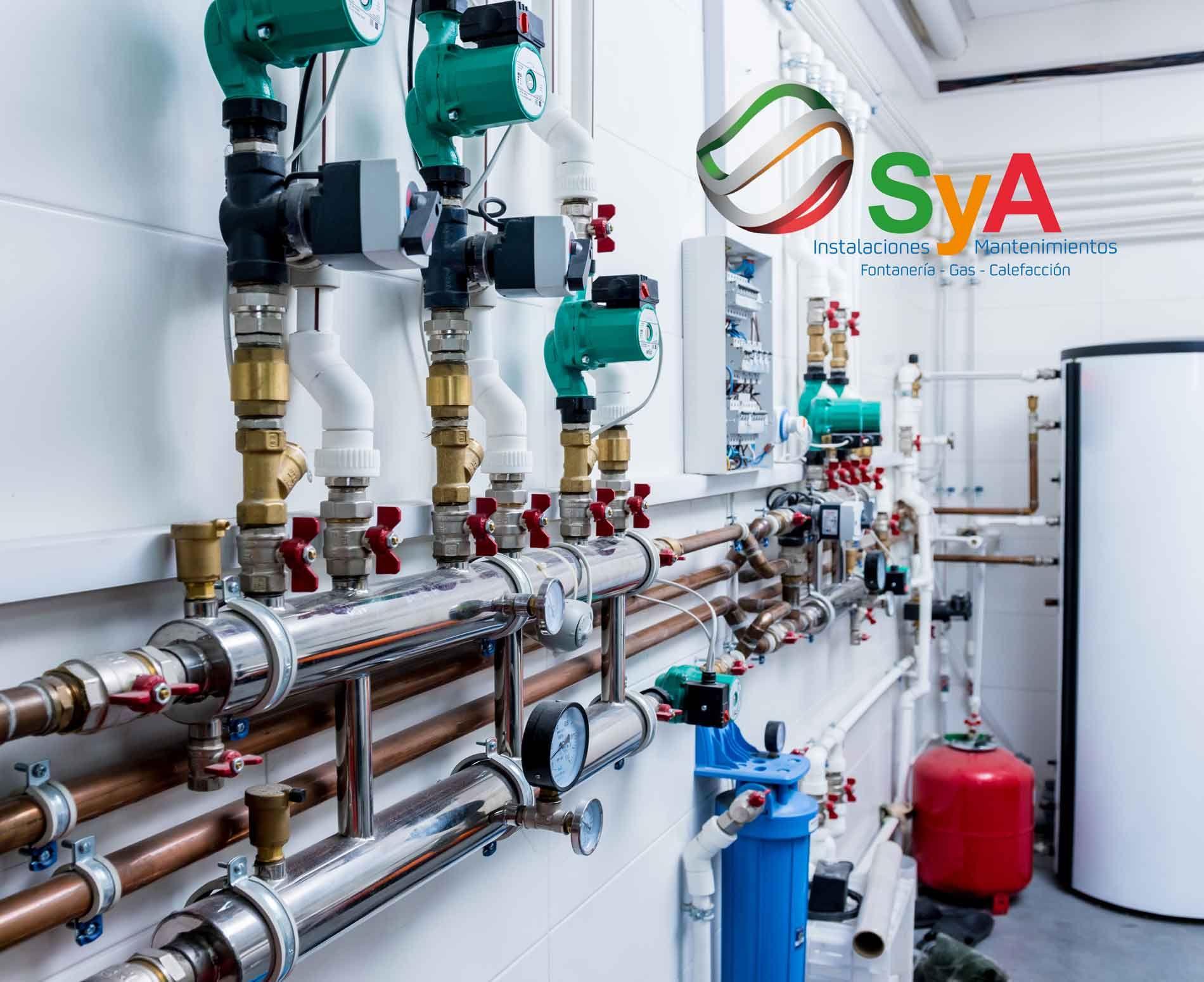 SYA ofrece su línea de instalaciones de gas a empresas y particulares