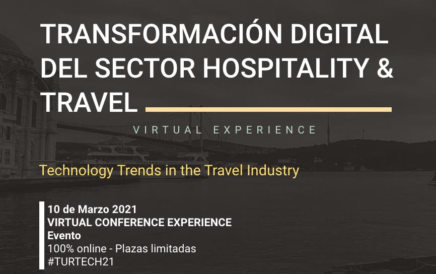 Transformación digital & innovaciones IT en el sector hospitality, travel & leisure