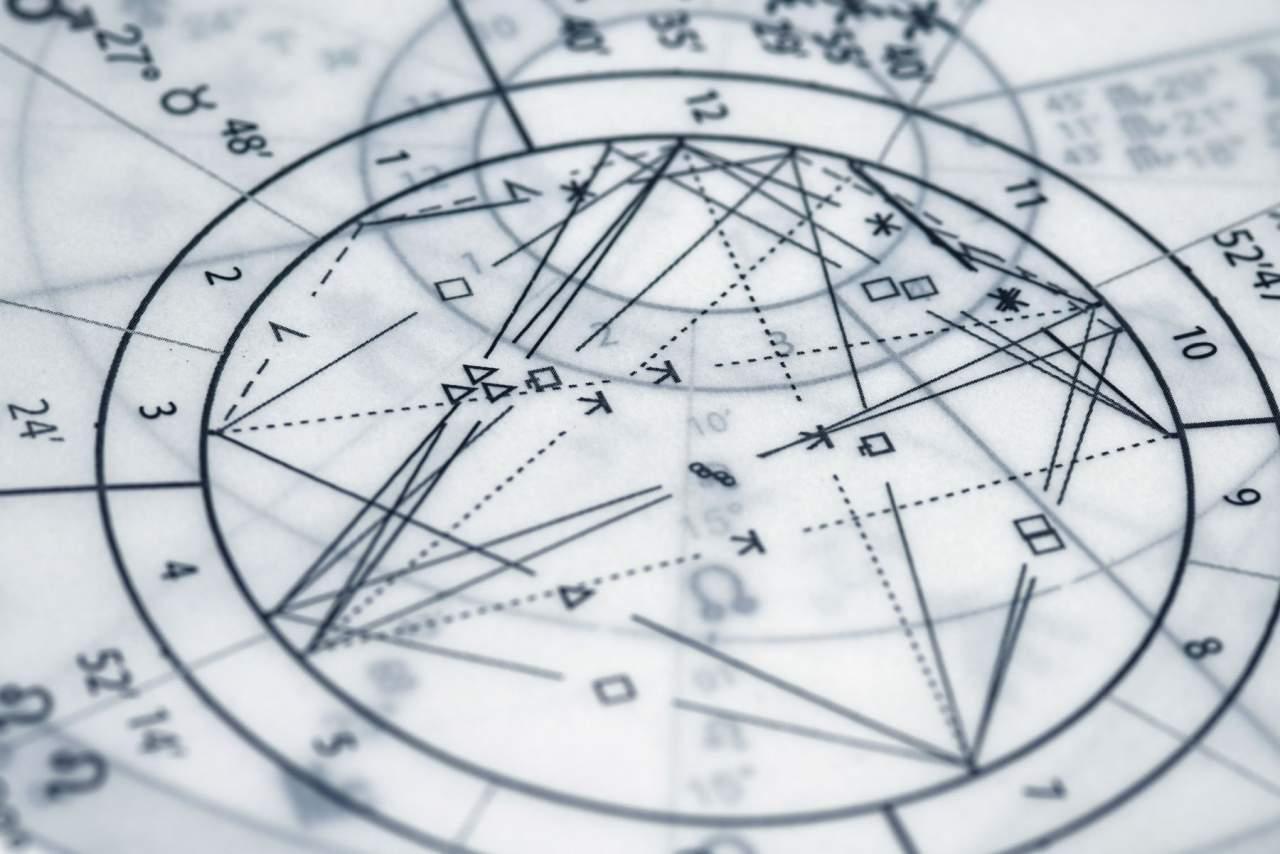 Carta horaria astrología
