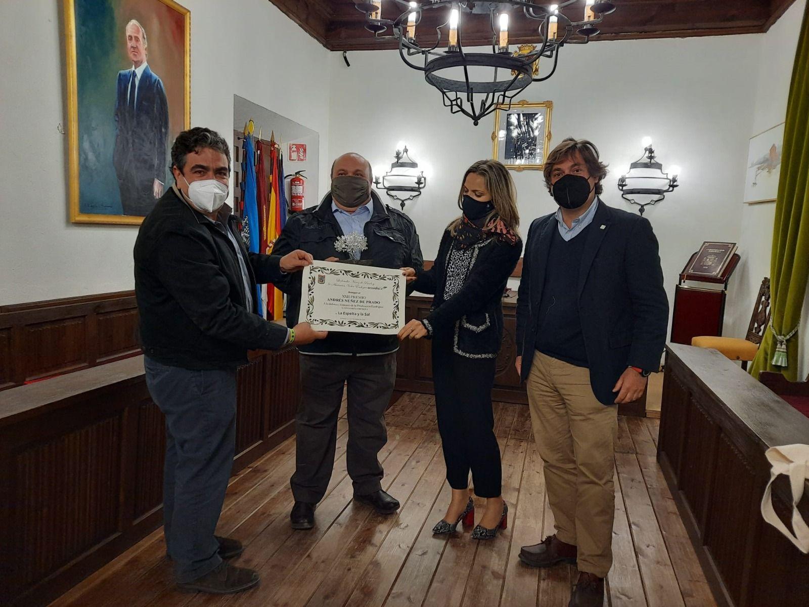 DeSpelta, galardonada por Ecovalia por la defensa de la producción ecológica en la categoría de Empresa