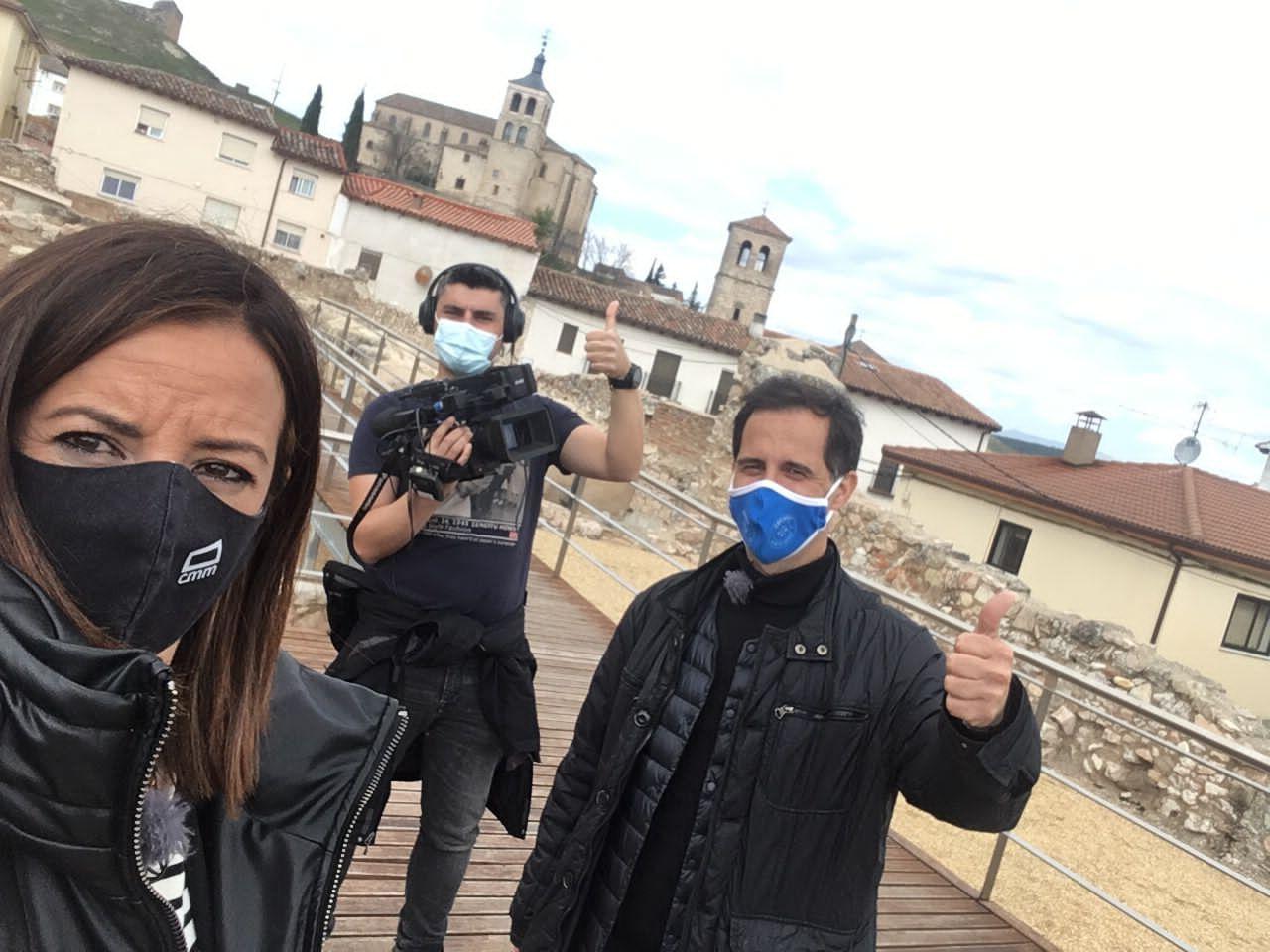El programa 'Castilla-La Mancha Me Gusta' hace escala en Cogolludo por partida doble