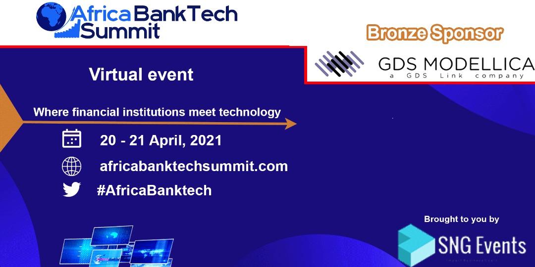GDS Modellica, bronze sponsor, en Africa BankTech Summit 2021