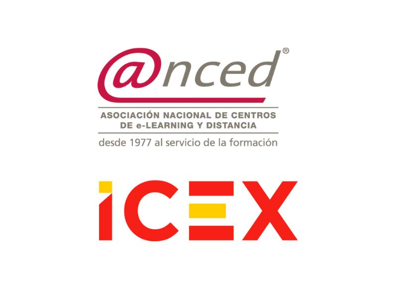 ICEX Y ANCED firman un protocolo para impulsar la formación online fuera de España
