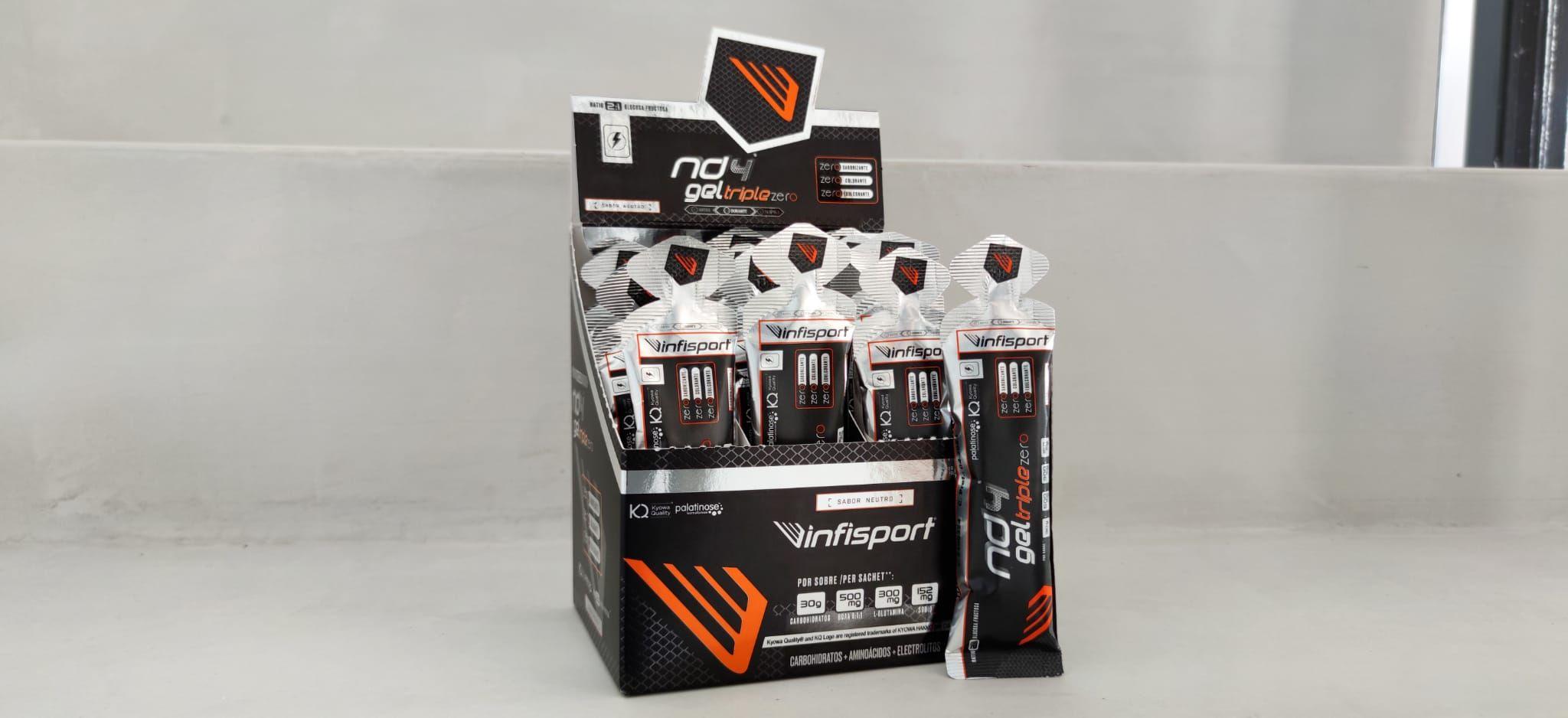 INFISPORT® lanza un nuevo gel técnico para deportistas: ND4® GEL Triple Zero