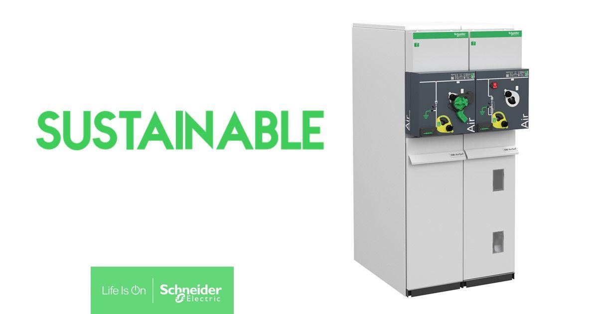 La premiada celda sostenible y digital sin SF6, SM AirSeT de Schneider Electric, debuta en el mercado