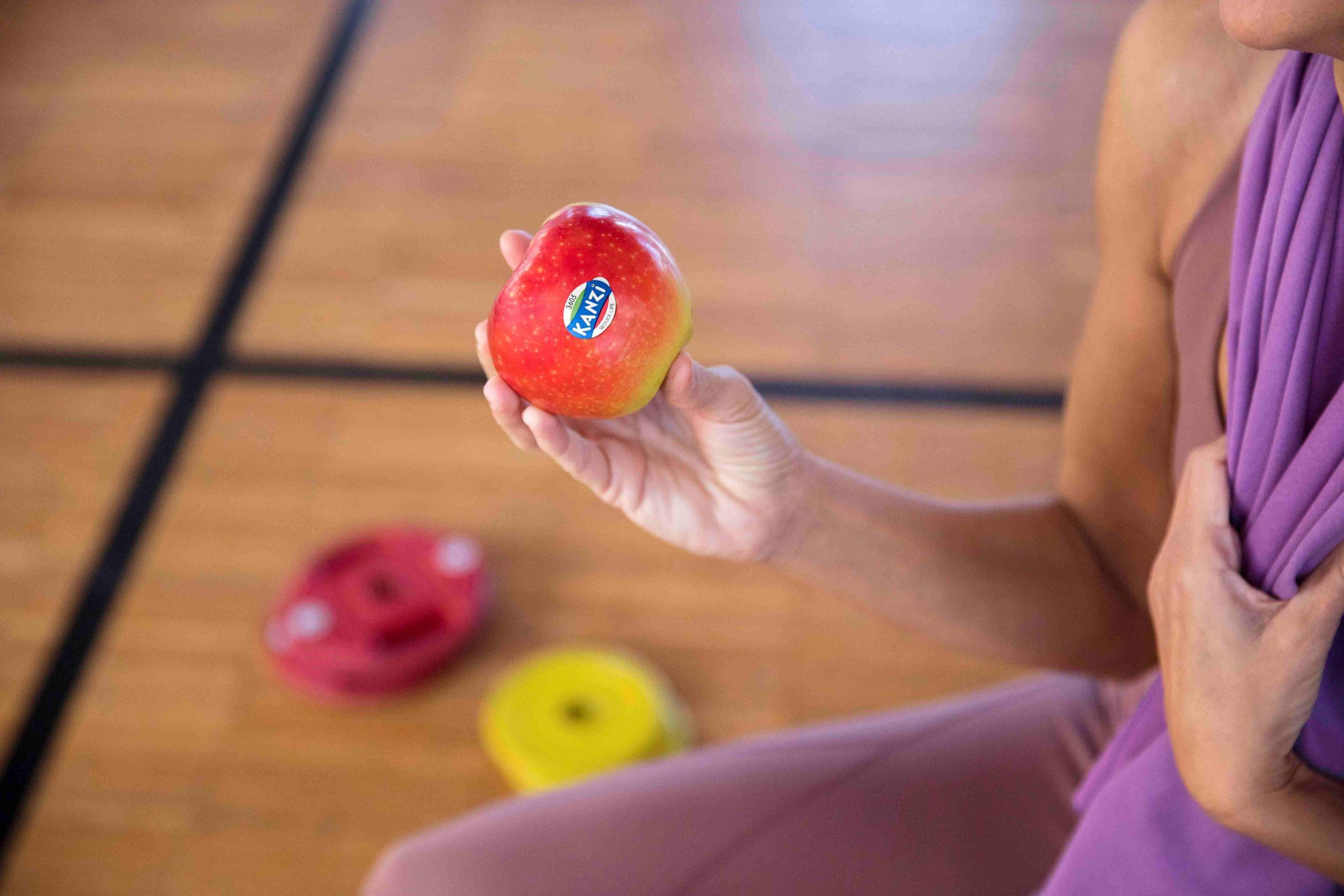 Los ejercicios de las manzanas de Kanzi para recuperar la energía