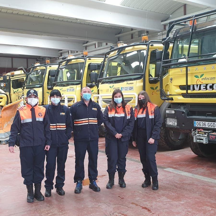Los nuevos voluntarios de Protección Civil se forman adecuadamente en este mes de abril