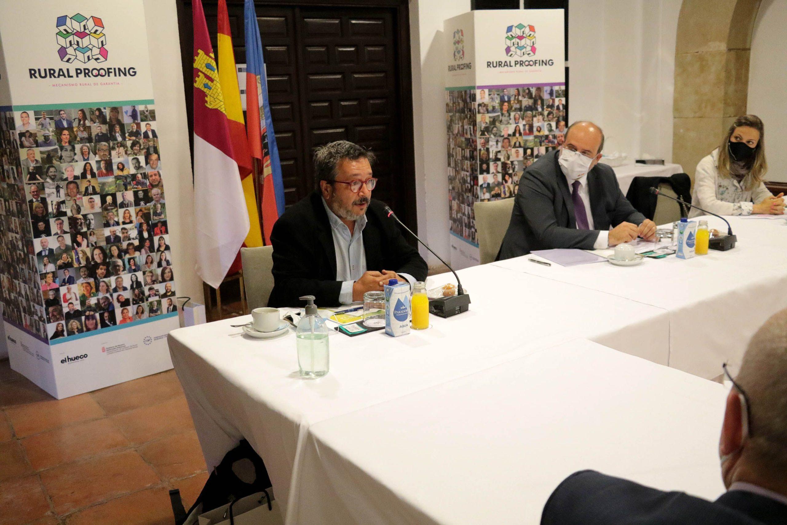 Rural Proofing y la JCCM intercambian experiencias en Sigüenza para combatir la despoblación