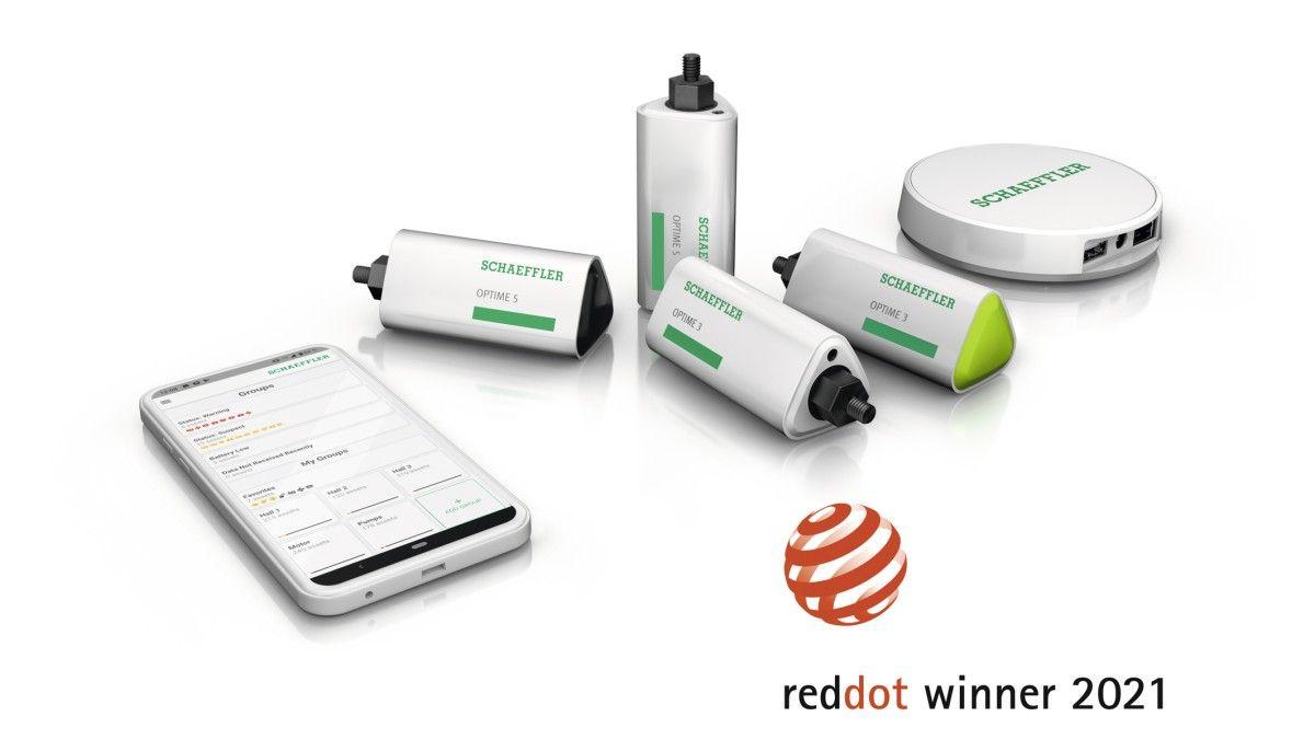 """Schaeffler recibe el premio """"Red Dot Design Award"""" en dos categorías con OPTIME"""