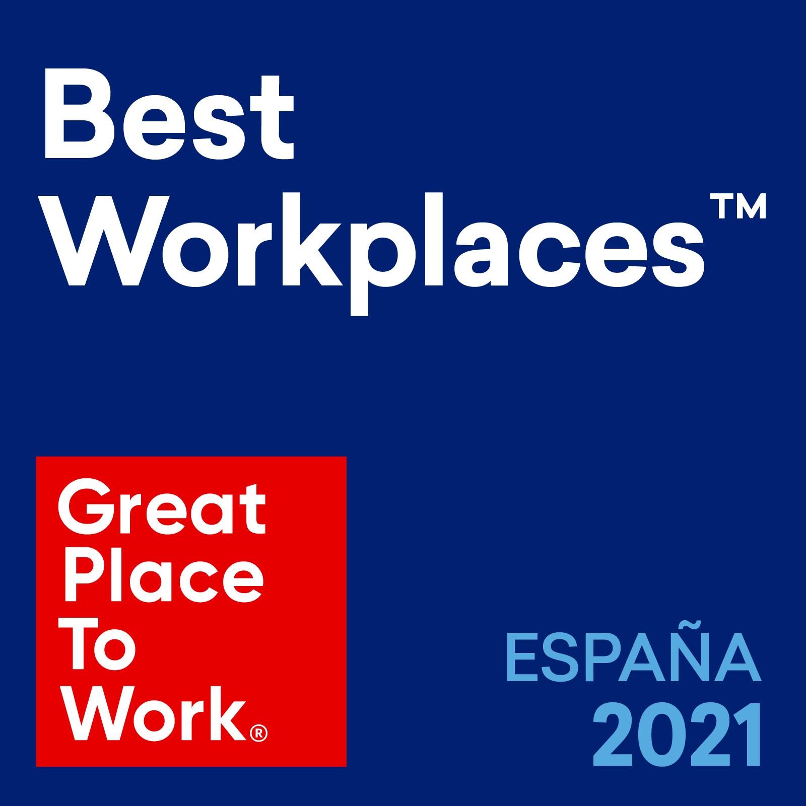 Software DELSOL y Admiral Seguros, mejores empresas para trabajar en España