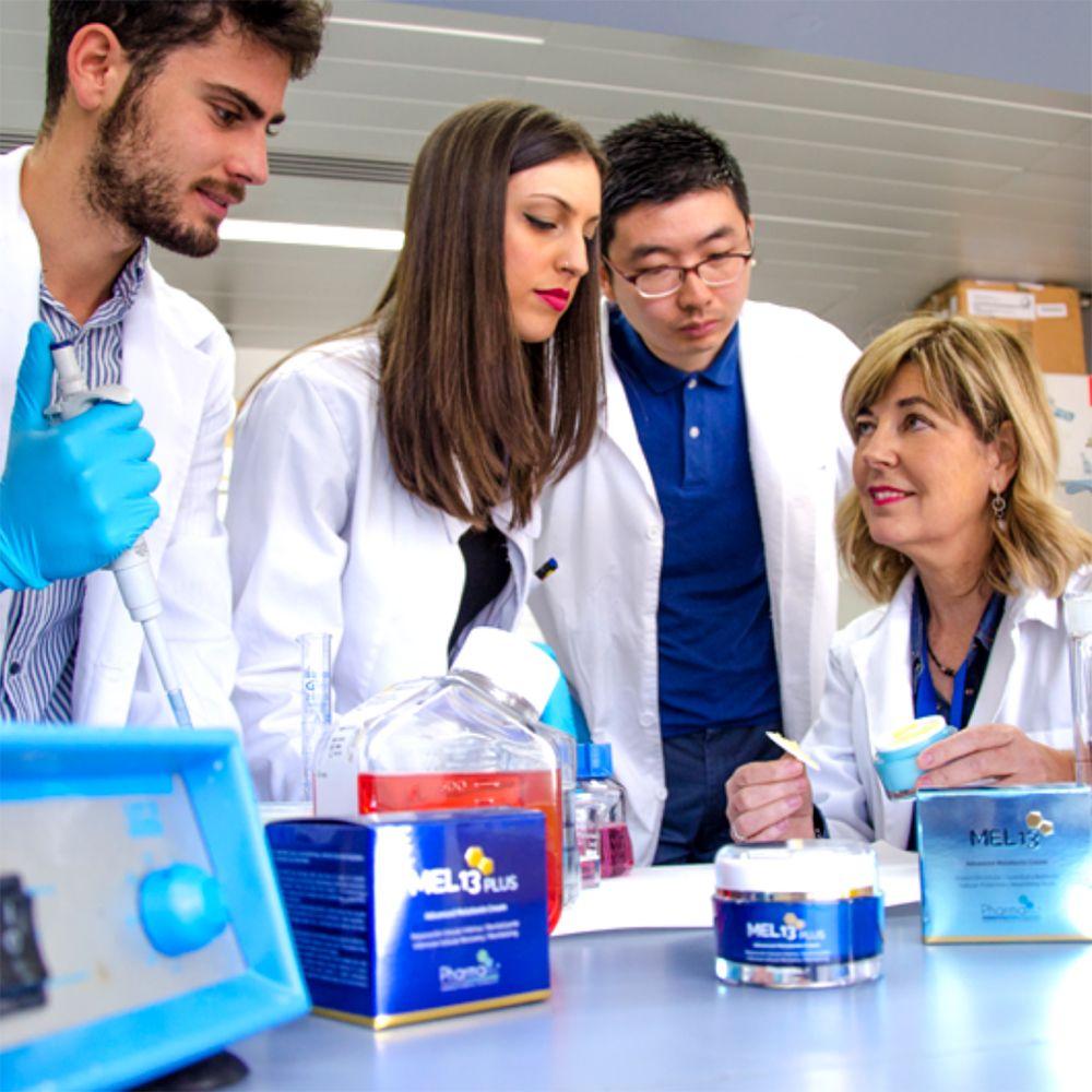 Un laboratorio español lucha por la salud de la piel a nivel mundial gracias a la melatonina