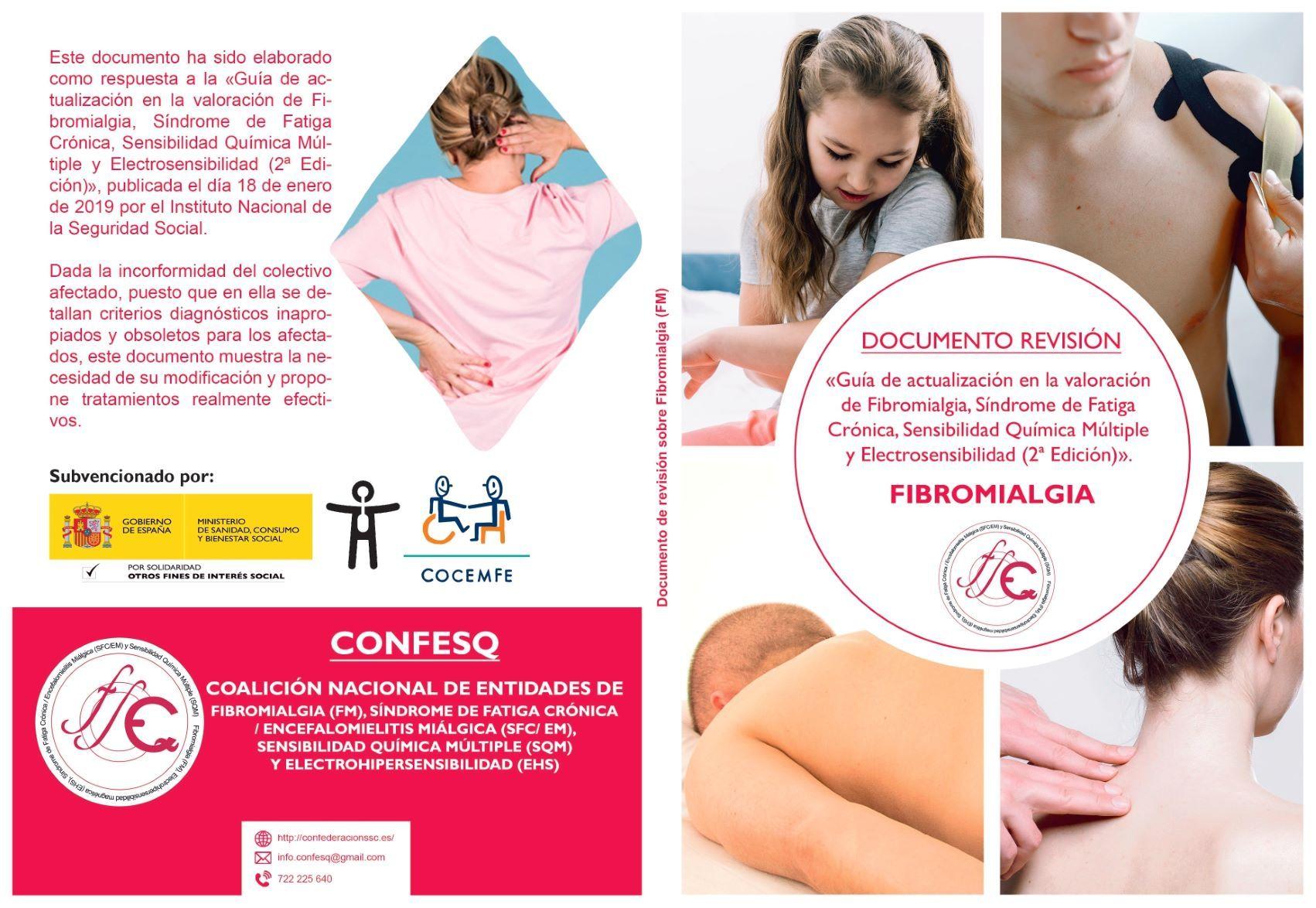 Asociaciones de pacientes de fibromialgia piden revisar una guía al INSS