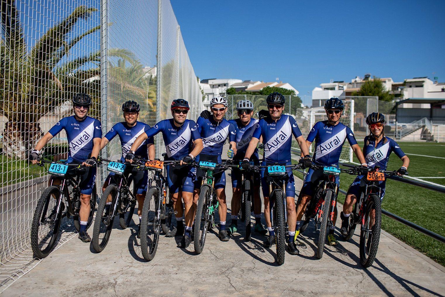 Aural Widex Team participa en la Andalucía Bike Race