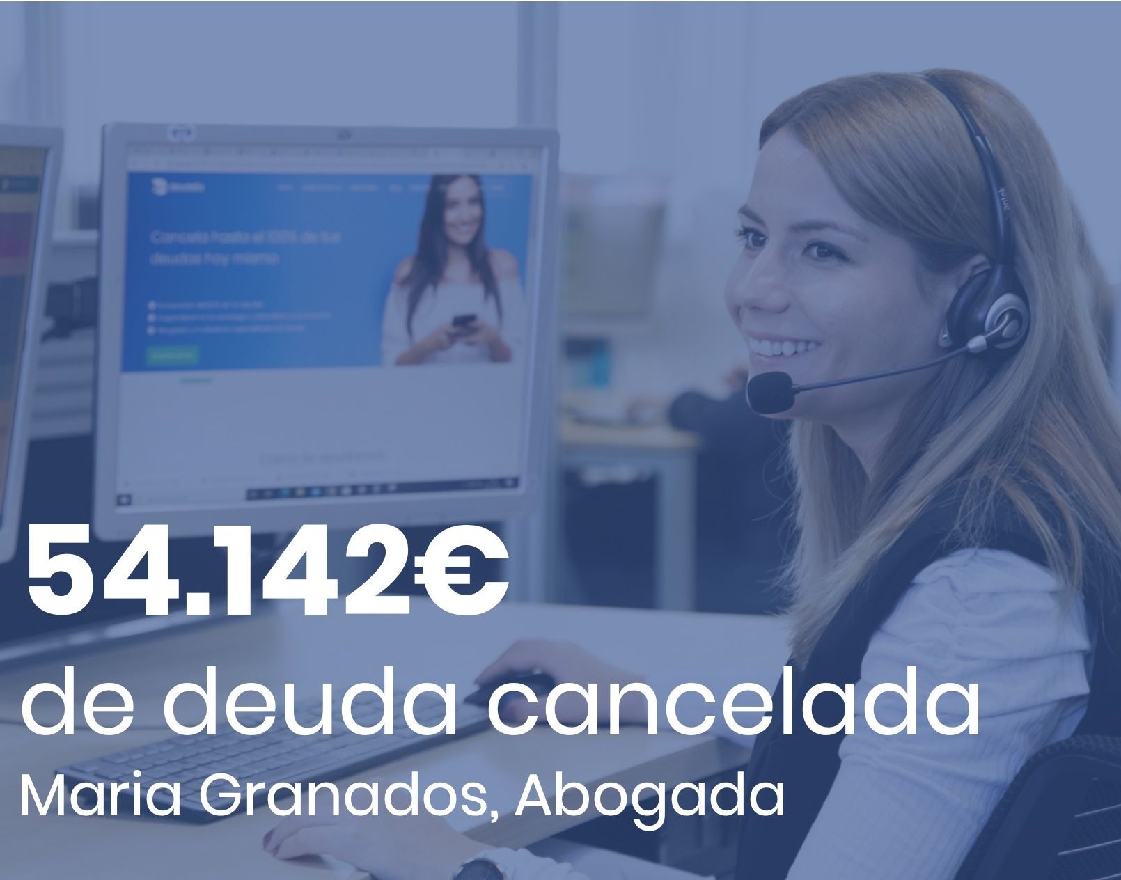 Deudafix Abogados cancela 54.142 €, incluyendo 18.081 € con BBVA, con la Ley de Segunda Oportunidad