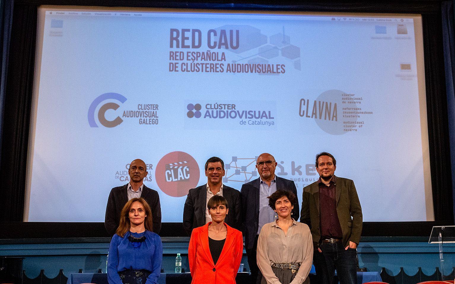 EIKEN impulsa junto a cuatro clústeres REDCAU: Red Española de Clústeres Audiovisuales