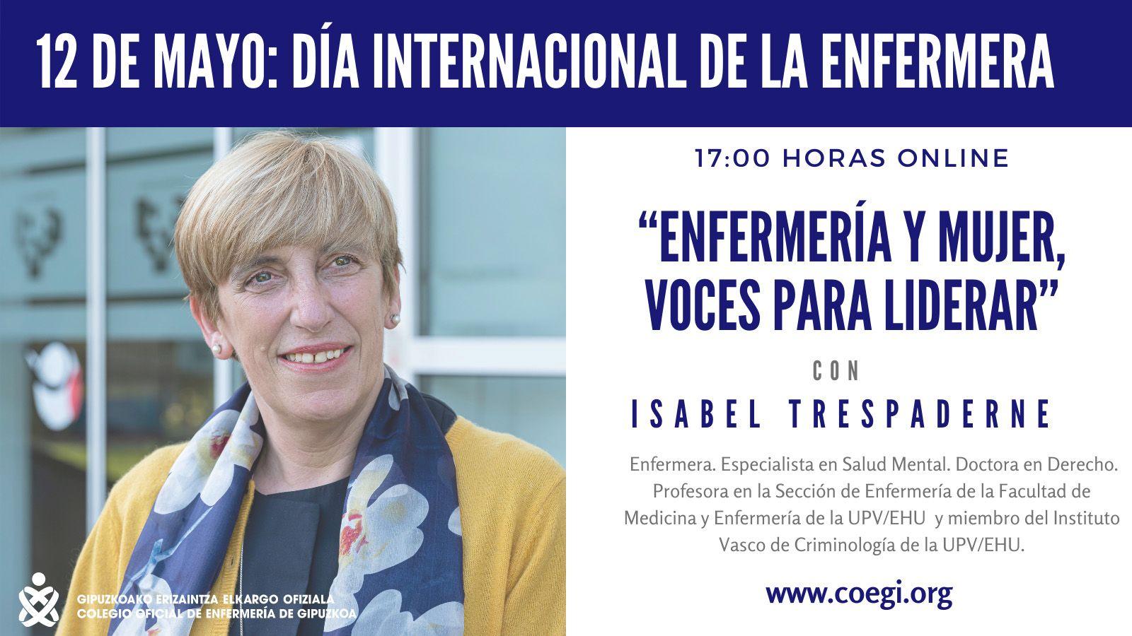 El COEGI destaca la profesionalidad y humanidad de las enfermeras con motivo del Día Internacional