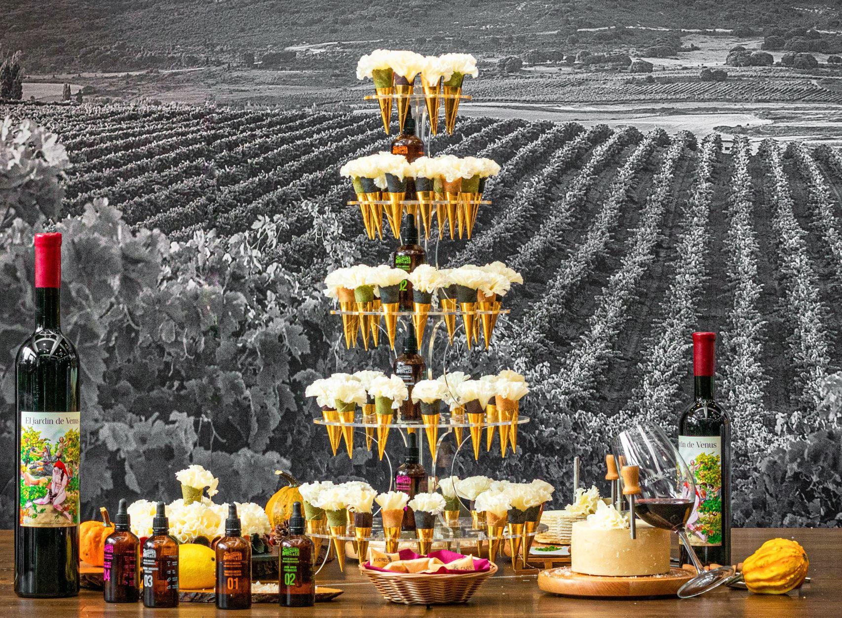Flores de Queso: la idea perfecta para celebrar una boda