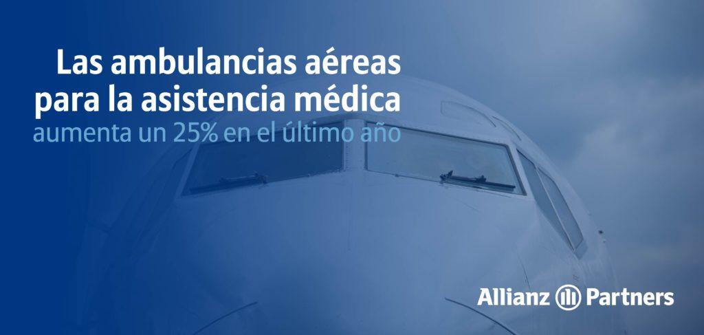 Foto de El uso de ambulancias aéreas para la Asistencia médica ha