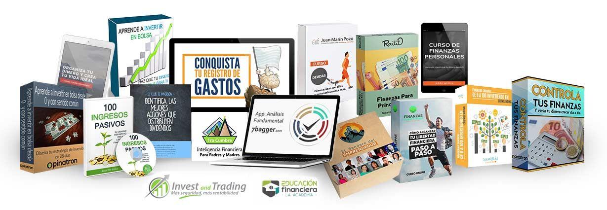Opinatron lanza un pack de cursos sobre inversión para promover la formación sobre finanzas