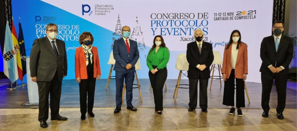 Santiago acogerá en noviembre a más de medio millar de personas en un congreso de protocolo