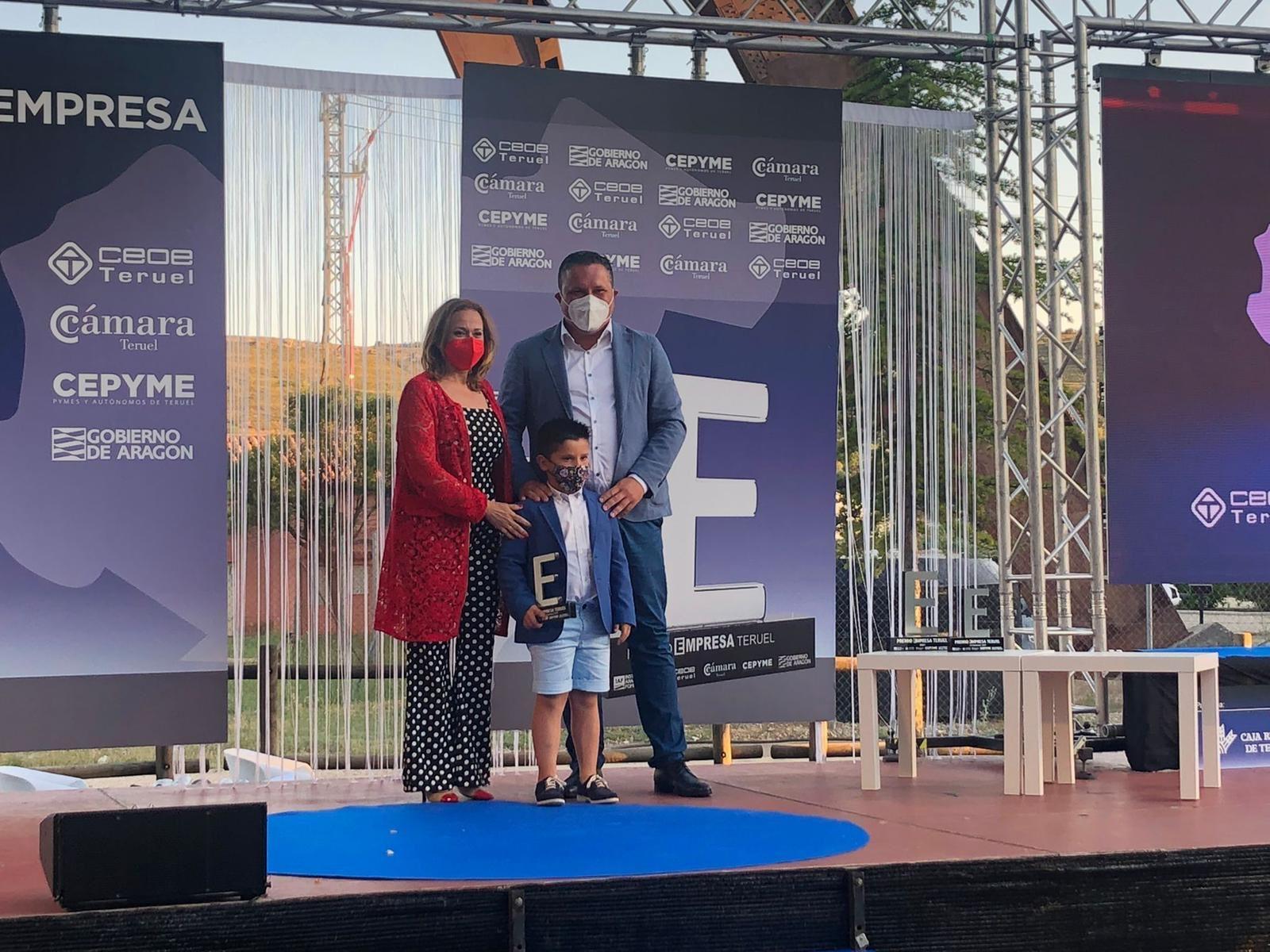 ALTERNATIC recibe el Premio a la Innovación en la celebración de la Gala Premio Empresa Teruel 2021