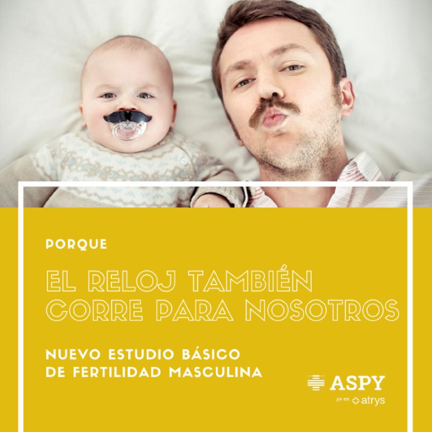 ASPY incorpora los estudios de fertilidad masculina a su cartera de servicios