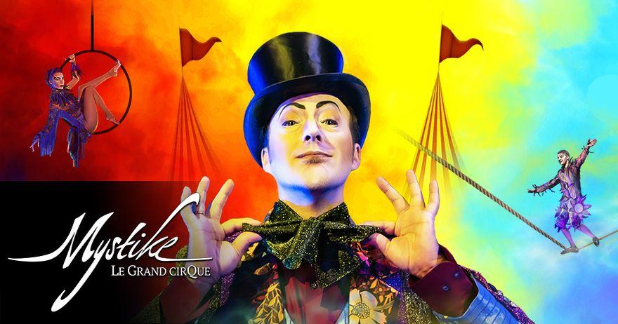 "Después de sus dos primeros éxitos, llega a Barcelona ""Mystike – Le Grand Cirque"""
