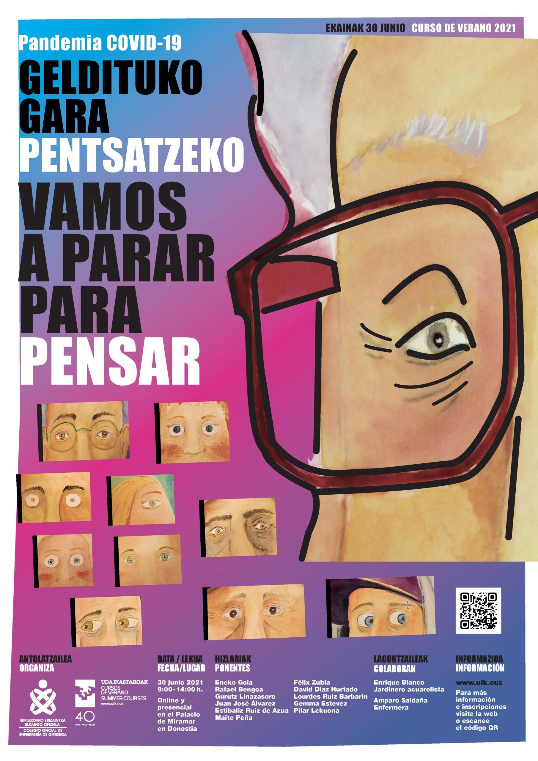 El COEGI invita a realizar una reflexión conjunta sobre todo lo visto y vivido en la pandemia