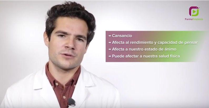 El Colegio de Farmacéuticos de Gipuzkoa ofrece pautas para mejorar la higiene del sueño en un videoconsejo