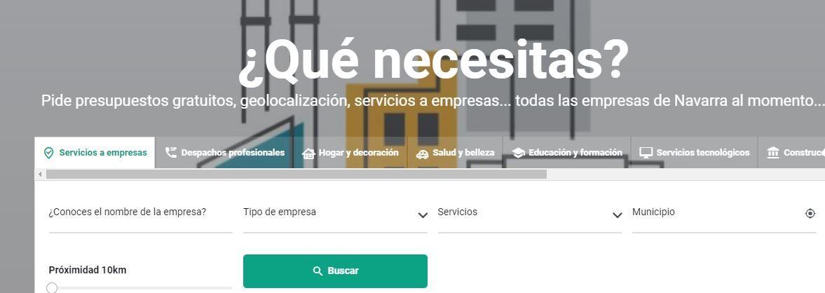 """""""Empresas en Navarra"""", un buscador para conocer y dar a conocer empresas"""