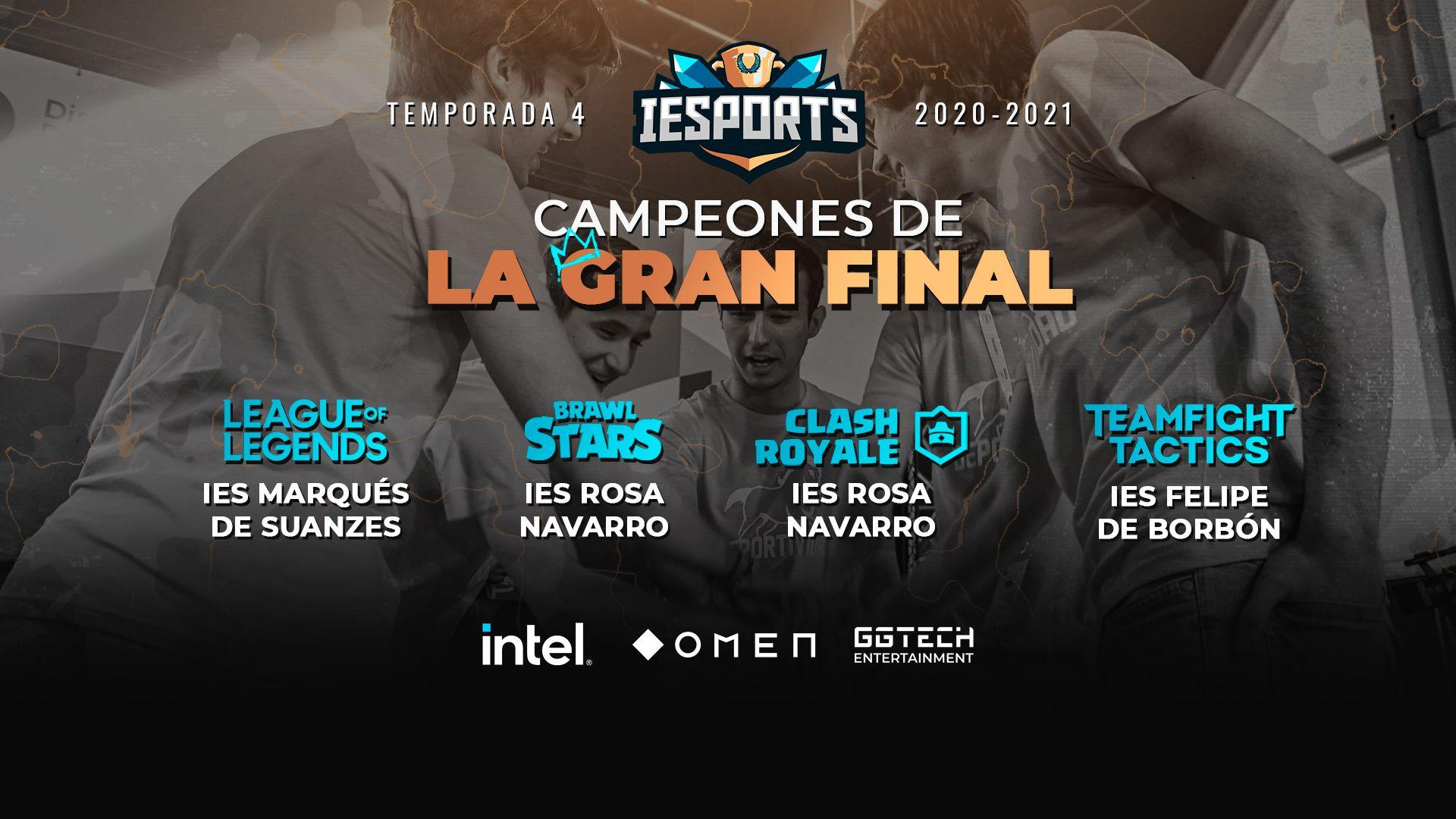 Finaliza la 4ª temporada de la Liga IESports con 600 Centros Educativos inscritos de toda España