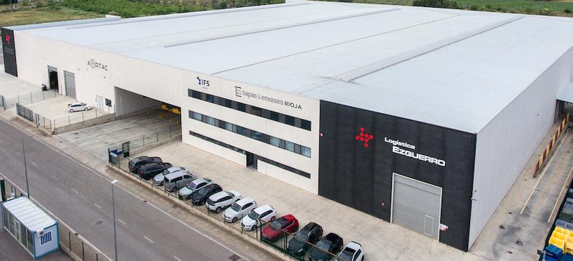 Logística Ezquerro inaugura el mayor Depósito Fiscal de La Rioja