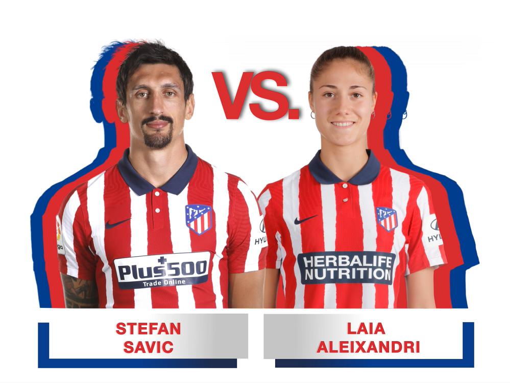 Stefan Savić frente a Laia Aleixandri. ¿Quién sabe más de fútbol?