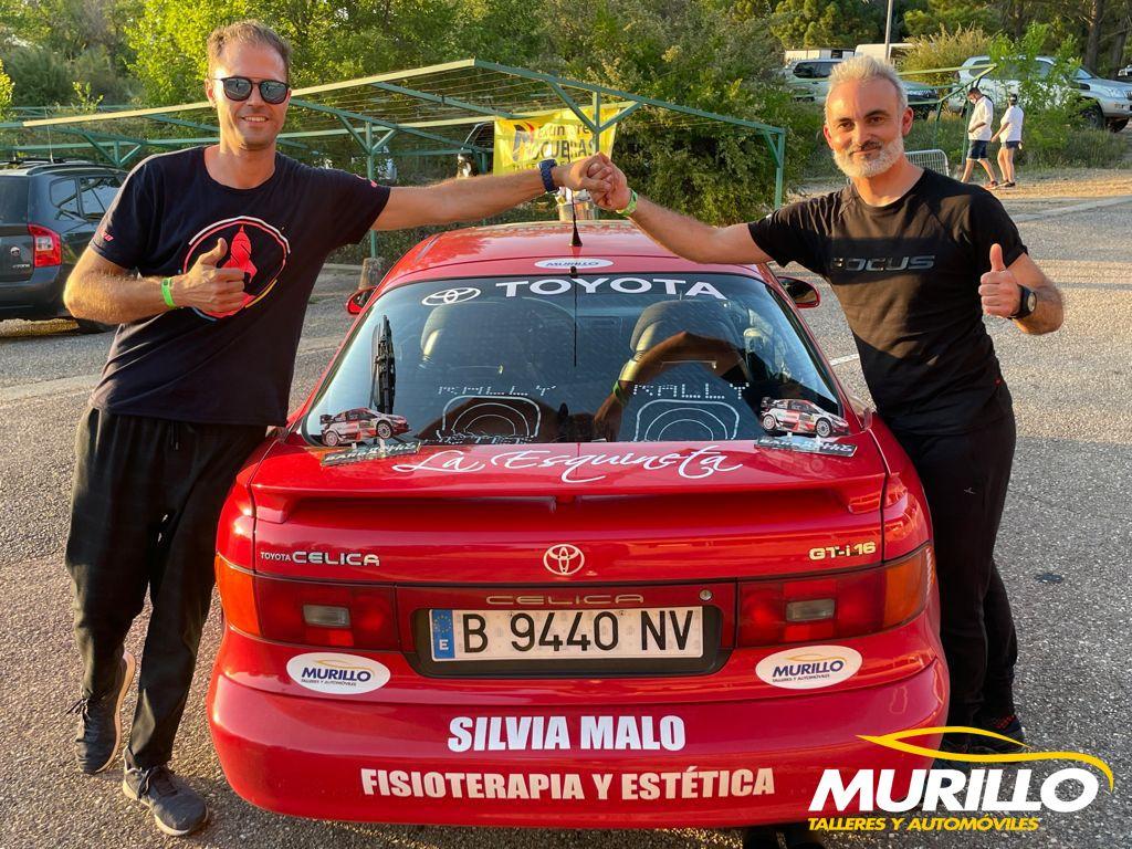 Talleres Murillo participa como patrocinador en el Rally de Barbastro