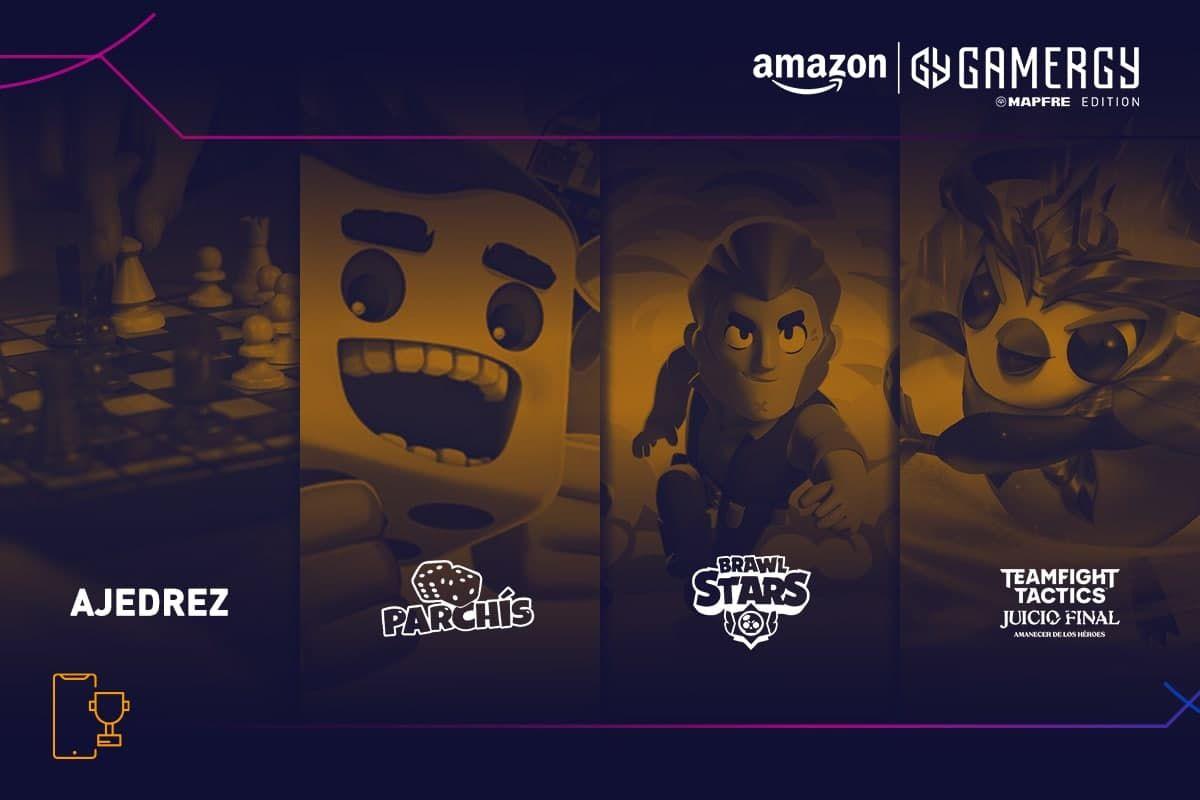 Arrancan los primeros torneos de Amazon GAMERGY MAPFRE Edition, con más de 100 equipos en la parte online
